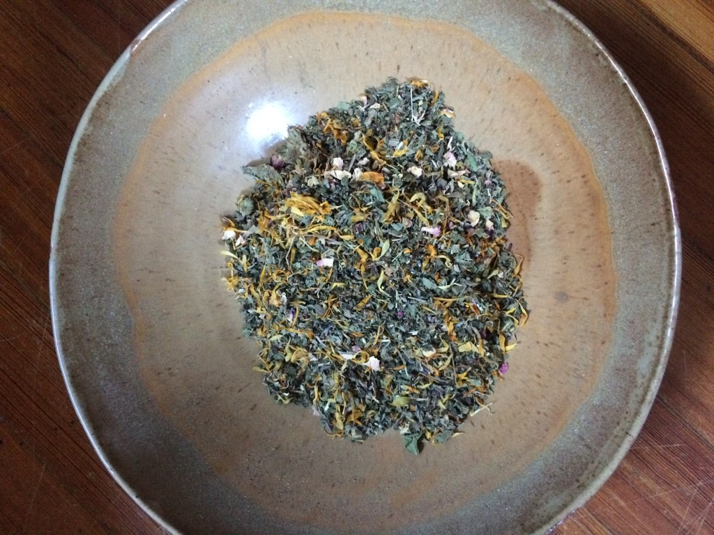 Herbs to soothe a postpartum bottom